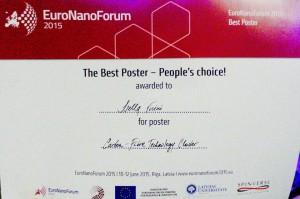 Euronanoforum 2015
